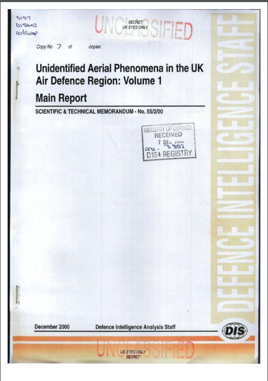 Risultati immagini per unidentified aerial phenomena in UK