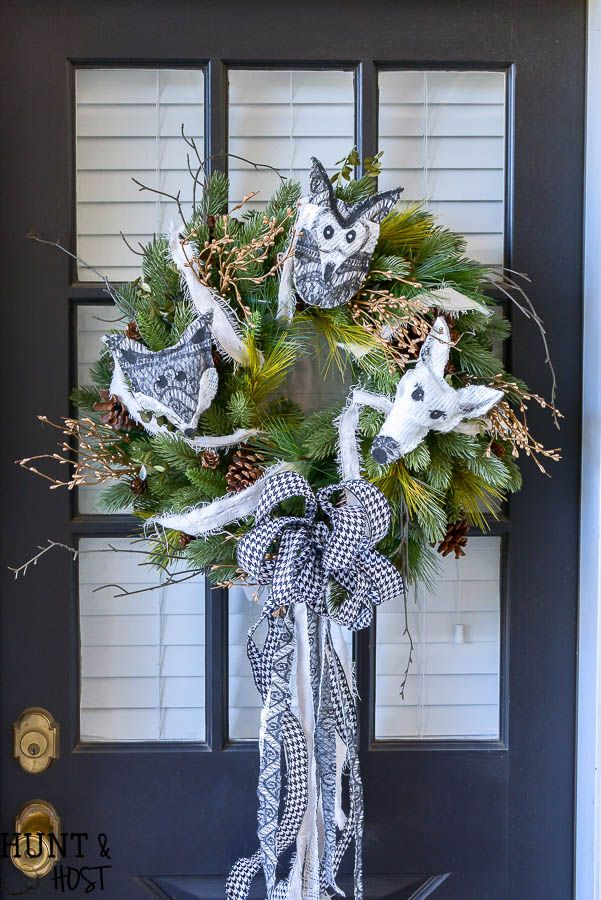 Christmas Wreath Ideas For Your Porch