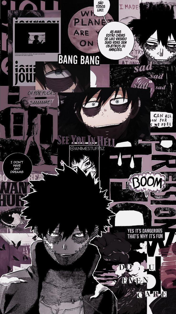 Boku no Hero Dabi Hero wallpaper, Cute anime wallpaper
