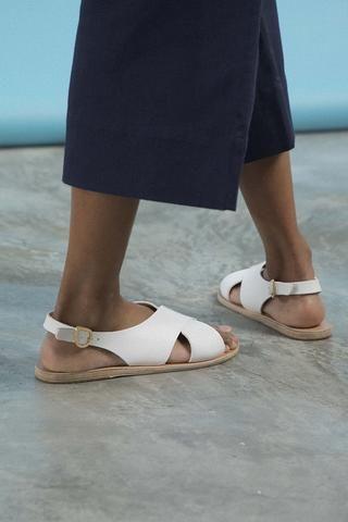 Ancient Greek Sandals - Maria Leather Sandals