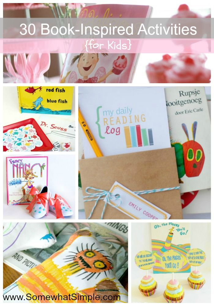 Read Together, Create Together: 30 Book Activities for Kids