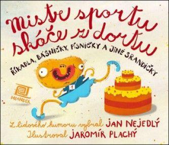 Mistr sportu skáče z dortu
