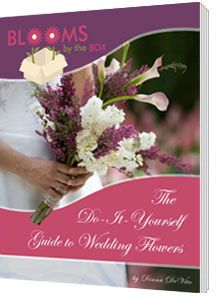 Some great tips for DIY wedding flowers, plus a 5% coupon on purchases at Blooms by the Box!