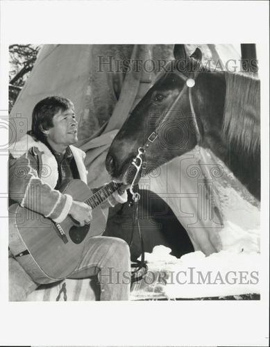 """1991 Press Photo of Singer John Denver Star in """"John Denver's Montana Christmas   eBay"""
