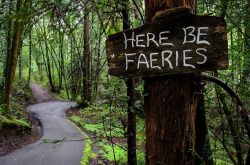 All the fairies dwell in the never never just believe and cross over and you will feel their loving presence