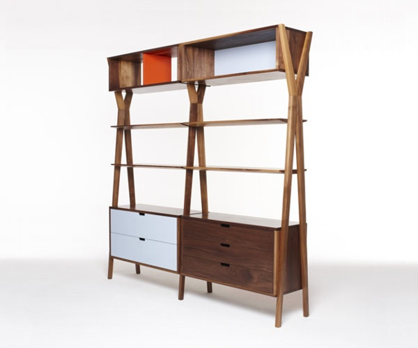 dare studio dixon modular storage unit in furniture inspiration find this pin and more on furniture danish design by vonmaansson open modular bookcase