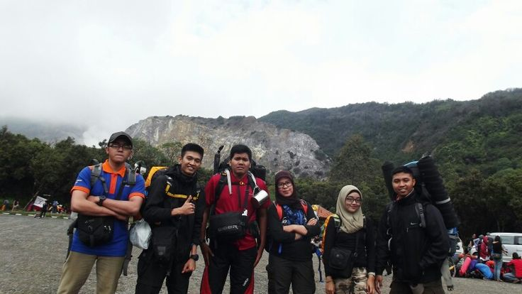 My team at Mt. Papandayan, Garut.