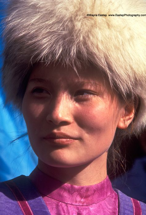 Ethnic Uyghur Woman Almaty, Kazakhstan