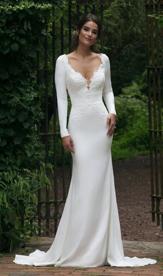 Courtesy of Sincerity Bridal Collection of Justin Alexander Wedding Dresses; www…