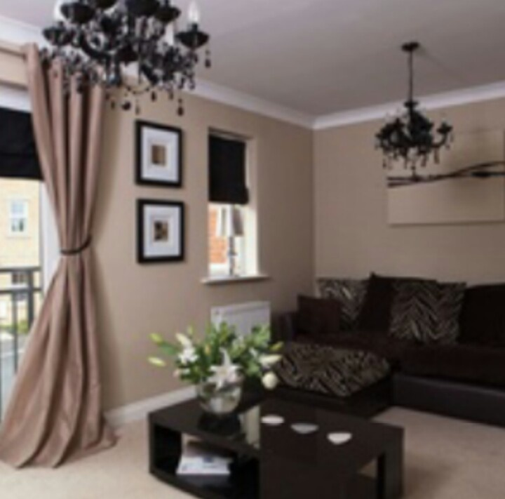 Awesome Mocha Color Paint Living Room