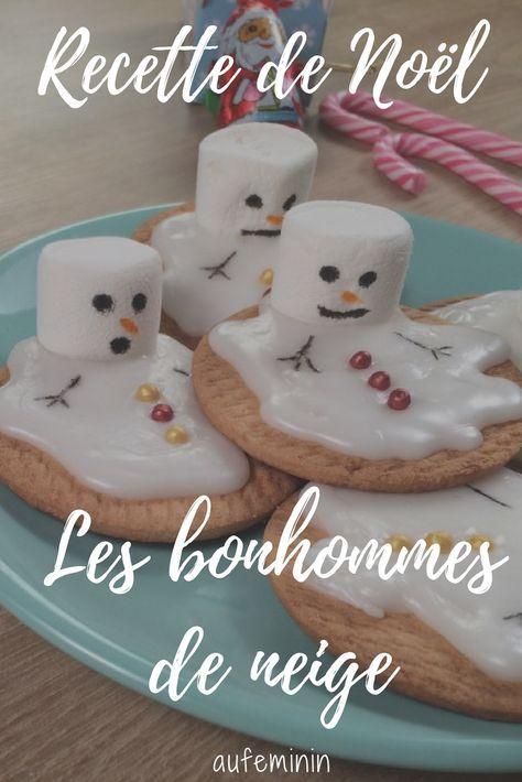 Video La Recette Des Sables Bonhomme De Neige Fondus Cuisine