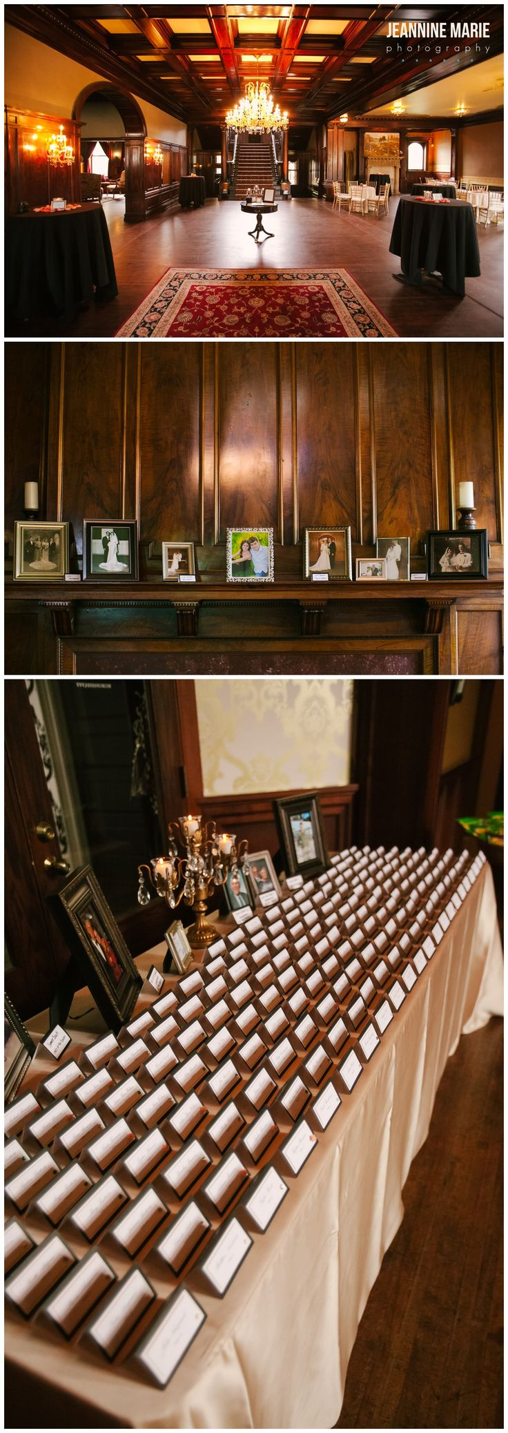 Semple Mansion wedding decor at Minneapolis, MN. Photos by Minnesota wedding…