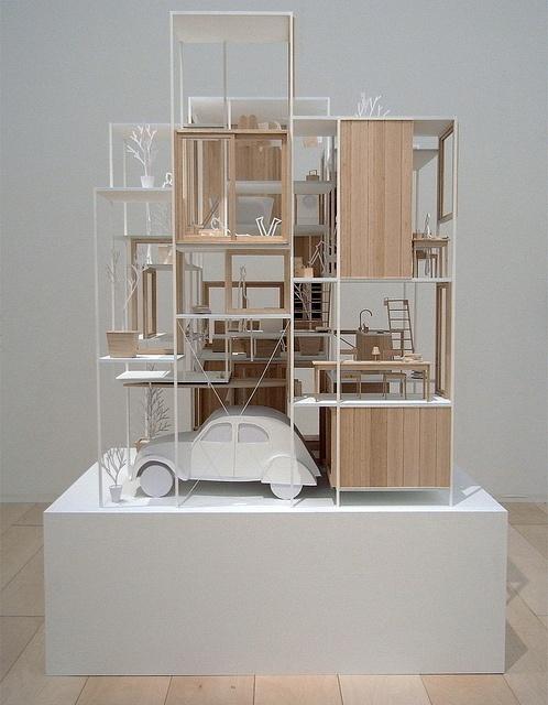 Sou Fujimoto - House NA - model 01.jpg by 準建築人手札網站 Forgemind ArchiMedia, via Flickr