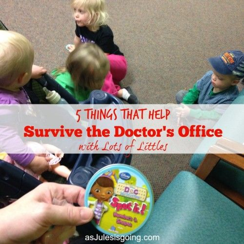 5 Things that Help  Survive the Doctor's Office  with Lots of Littles 3 spot it!