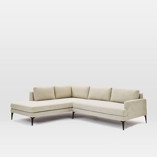 Andes Terminal Chaise Sectional | west elm