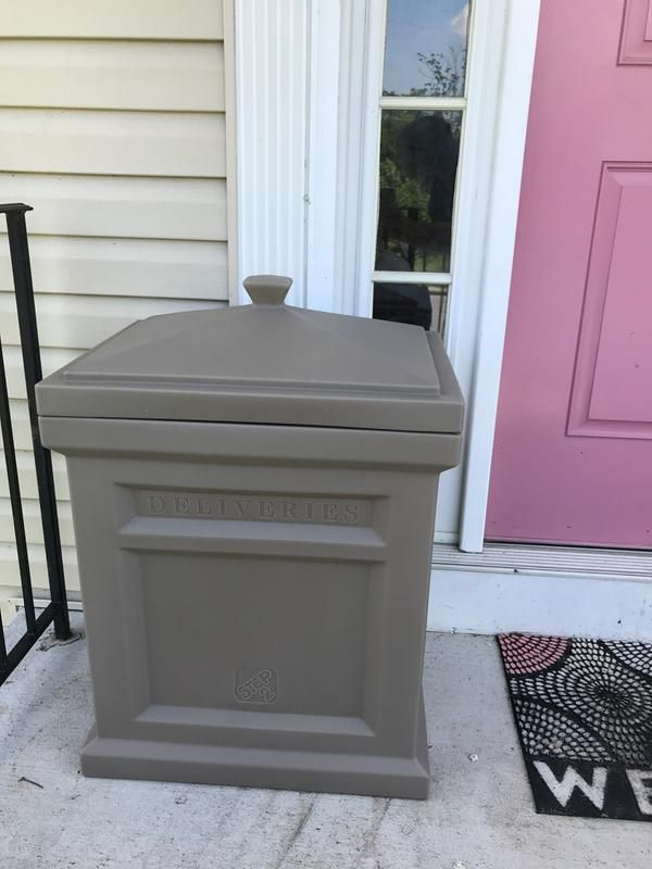 Express Package Delivery Box Black Package Delivery Diy Home