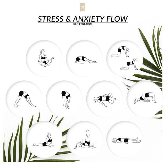 Are you girls tired of all the holiday hustle? Escape for a few minutes with our Anxiety & Stress Relief Yoga Flow ➜ http://www.spotebi.com/yoga-sequences/anxiety-stress-relief/ Just clear your mind, breathe, and let go of all stress and tension @spotebi #SpotebiTeam #Yoga #Yogagirl