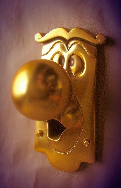 CRIATIVIDADE em portas e maçanetas