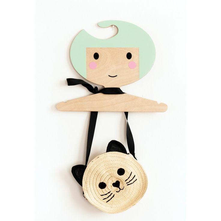 Petit Monkey Ξύλινη Κρεμάστρα - Μιντ
