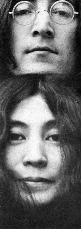 ♡♥John Lennon with Yoko Ono♥♡