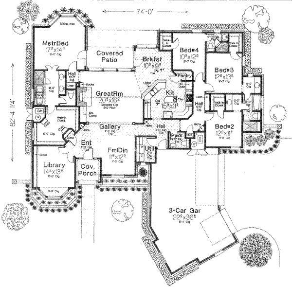 138 best Positive Planning images on Pinterest Dream home plans - new blueprint for 3 car garage