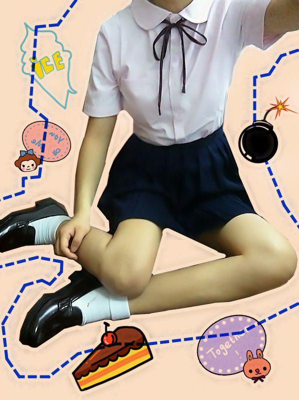 Japanese Uniform Style Girls French Toast Blouse Peter Pan Collar Uniform Shirt #Unbranded #Shirtblouse #CasualUniform