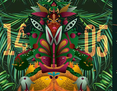 "Check out new work on my @Behance portfolio: ""La Folka Casquivana"" http://be.net/gallery/36534335/La-Folka-Casquivana"