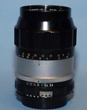 Nikon 135mm f3.5 Nikkor-Q.C Ai-conv. manual focus lens - Nice Ex+!