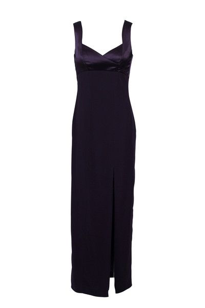 Price Roman Aubergine Dress SZ4  $75.00 #LoveThatCloset #Designer #Consignment #Sale #Dress #CocktailDress