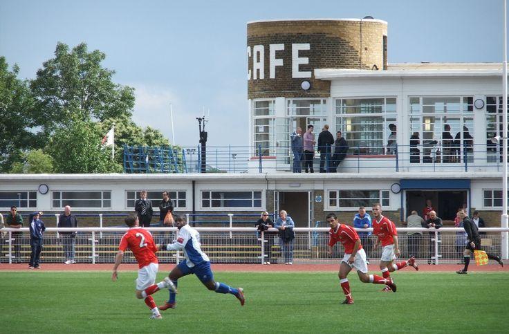 Enfield Town FC - Queen Elizabeth II Stadium