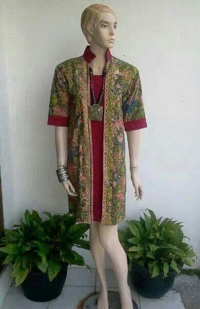 model dress batik 1