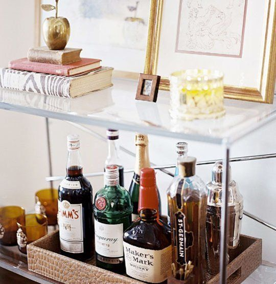 Inspirational Table top Mini Bar