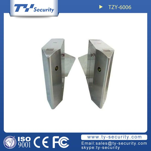 Speedgate glass leaf turnstile TZY-6006