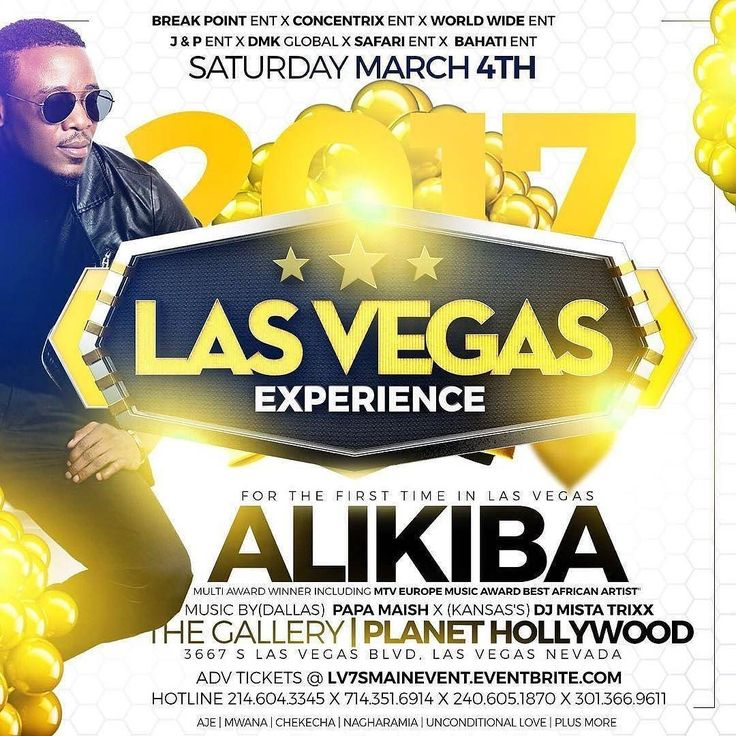 #lasvegas #nevada #saturday #clubbing #nightlife #party #celebrate #diva #divas #ladies #drinks #drinkspecials #fashion #dresscode #ballers #cocktails #nightlife #ladiesnight @wearmyvest @Regrann from @officialalikiba -  LAS VEGAS  iam coming Saturday March 4thInfos Follow @pligate @dmkglobal #weglobal#Truth #Mapromo #KingKibaWorldTour2K17 #KingKiba -