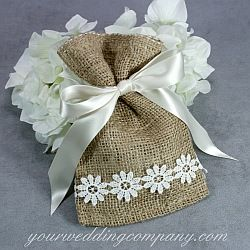 Burlap is a perfect accent fabric for rustic or vintage-themed weddings. Our burlap bags are made of premium 10 oz.