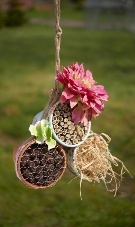 Insektenhotel bauen   VBS Hobby Bastelshop