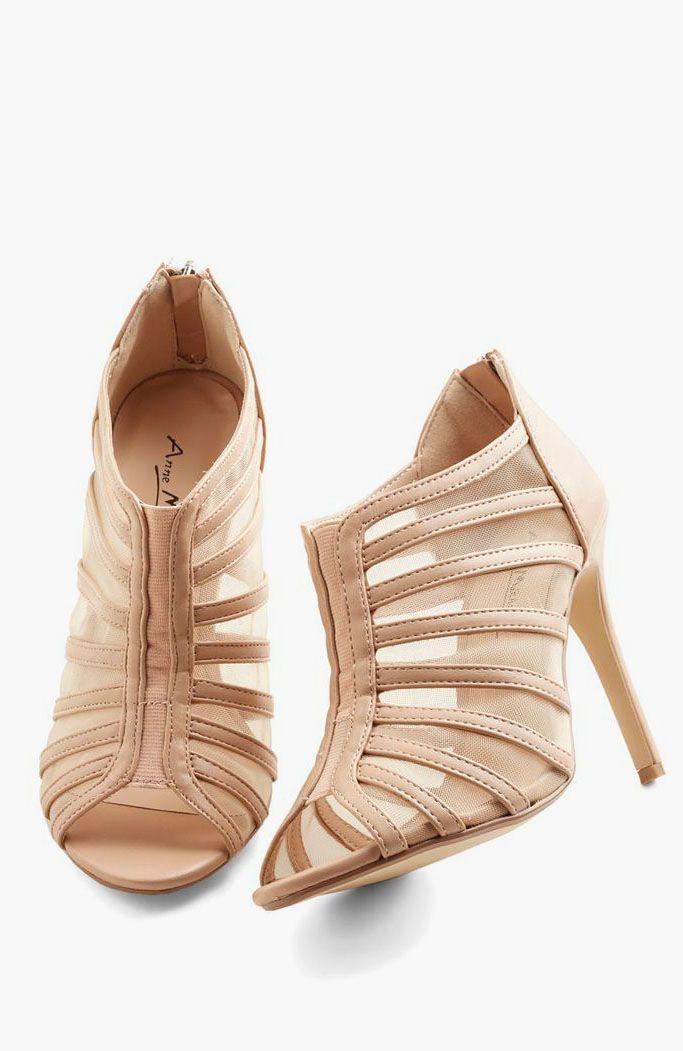 Mesh Princess Heel
