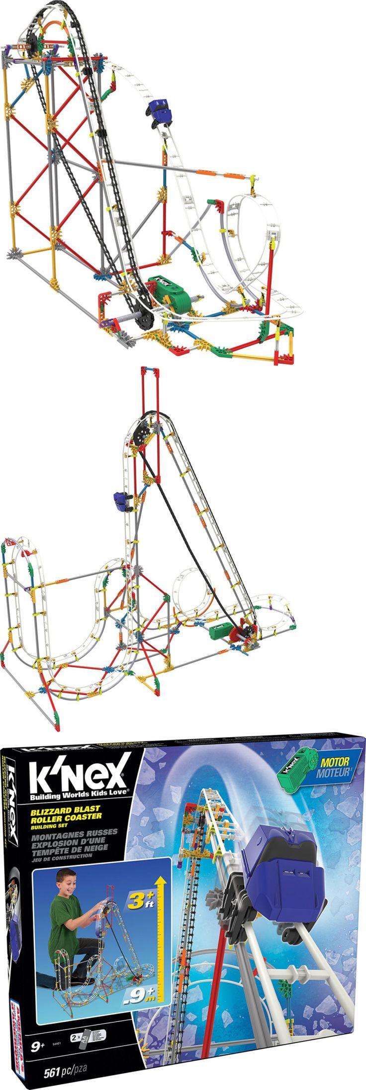 KNEX 21254: New Blizzard Blast Roller Coaster Building Set -> BUY IT NOW ONLY: $51.79 on eBay!