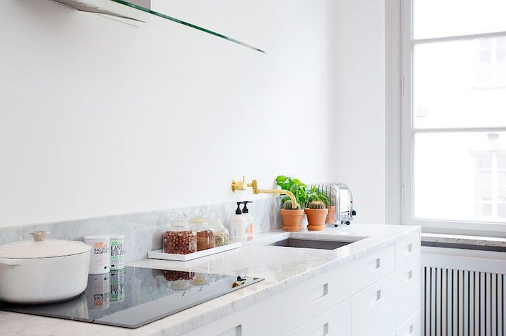 8 Decorating Ideas for white kitchen - Comfortable home