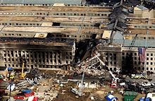 Pentagon--9/11/01...A PLANE WENT THROUGH THERE....APPARENTLY.....WHAT A LOAD OF BOLLOCKS!!!!!!!