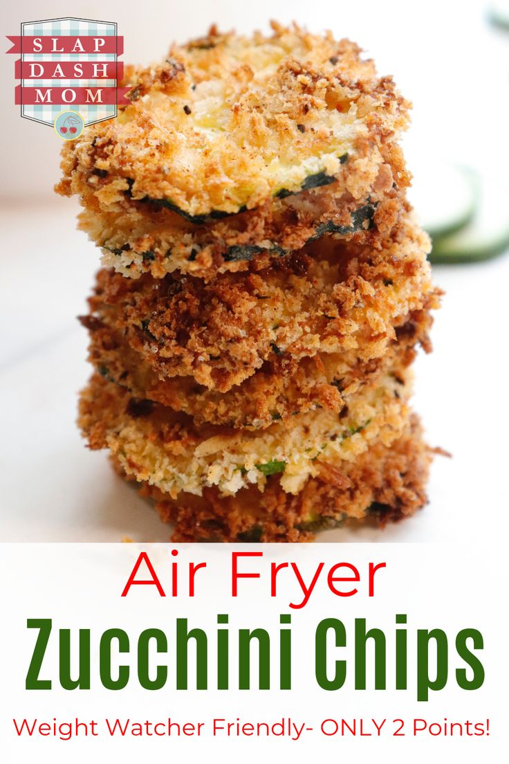 Air Fryer Zucchini Chips Recipe (With images) Zucchini