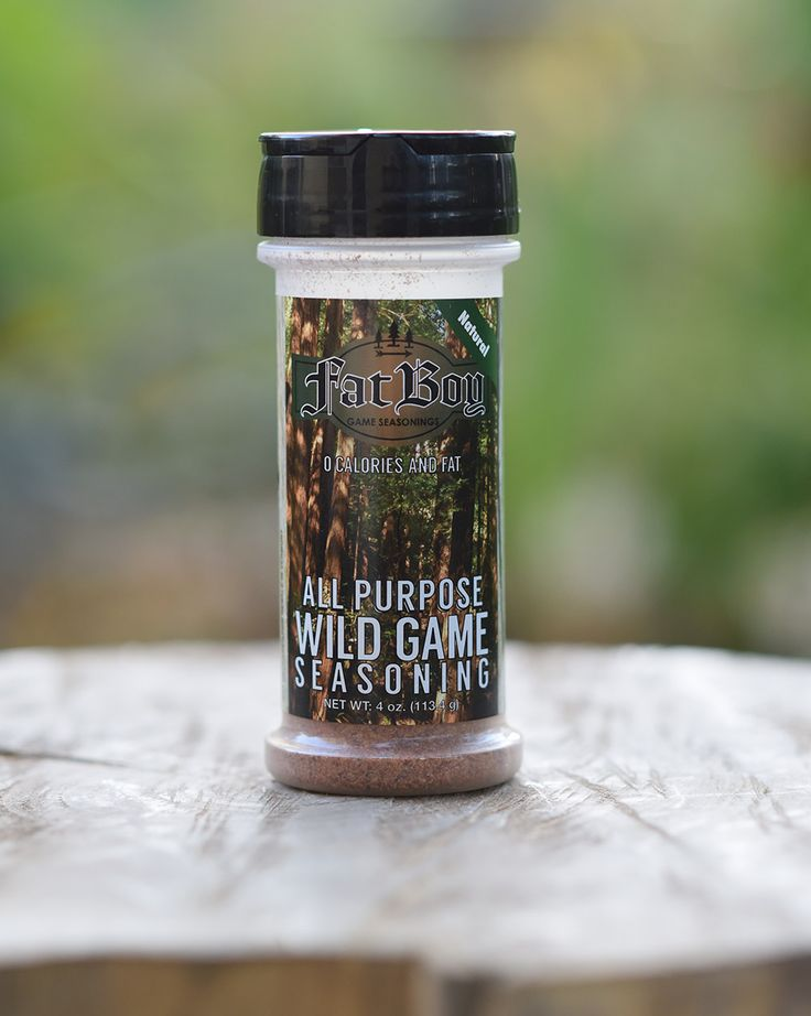 You like to hunt. You like to eat. You like to eat what you hunt. Every hunter wants a way to prepare their recent trophy, whether that's deer, elk, moose, duck, pheasant or any other kind of wild game, we've made a seasoning that works great at deer camp, in the smoker or in the kitchen. $5.95 All Natural. Gluten Free. No MSG.
