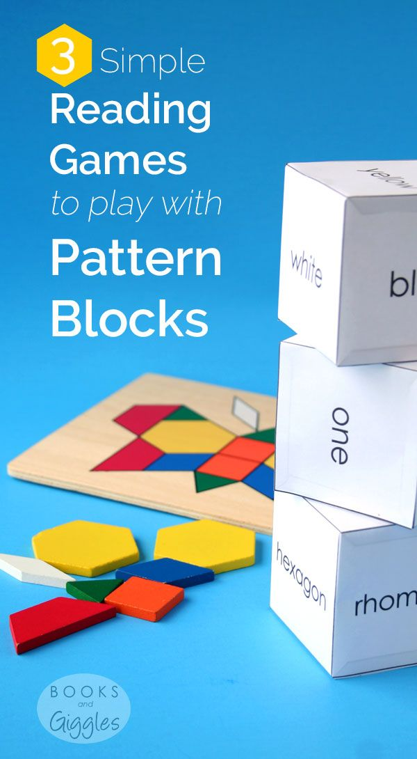 proper friendly letter format%0A   Simple Reading Games with Pattern Blocks  Free Printable