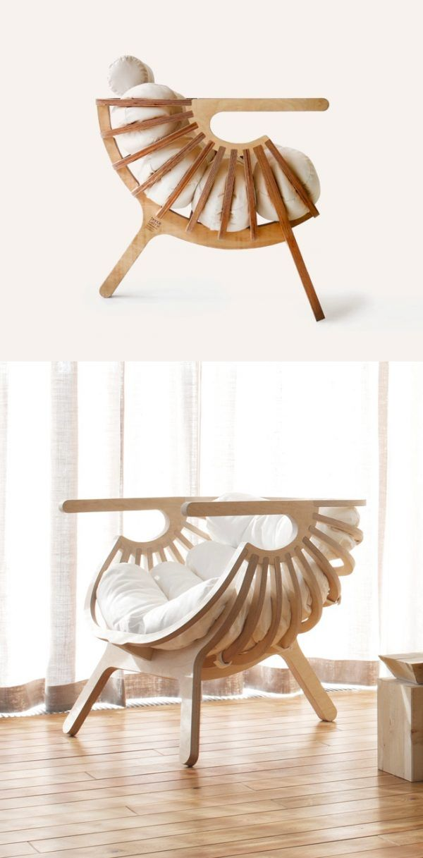 50 Stunning Sculptural Chairs That Act As