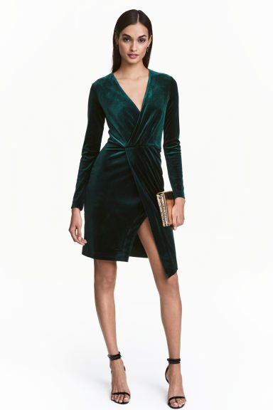 H&M Velour dress