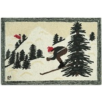 Ski Lodge Decor & Decorative Snow Shoes