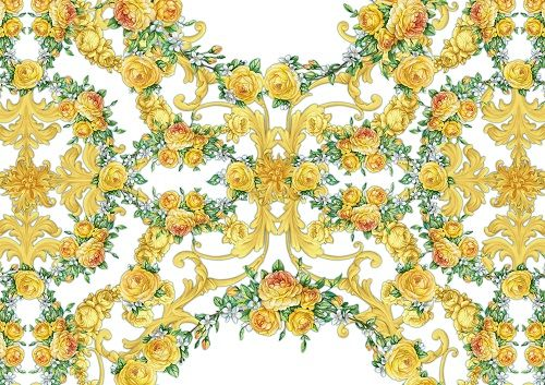 Baroque horizontal composition on white background by Maria Rytova #pattern #textile #background #backing #paper #work #纹样 #damask #арт #картинки #picture #decoupage #декупаж #дамаск #узоры #barok #baroque #wallpaper #design #卷草 #flower #图案 #фон #print #принт #printable #papel #ornament #seamless #golden #luxury #surface #rose #floral #decorative #decor #vintage #tile #бордюр #border