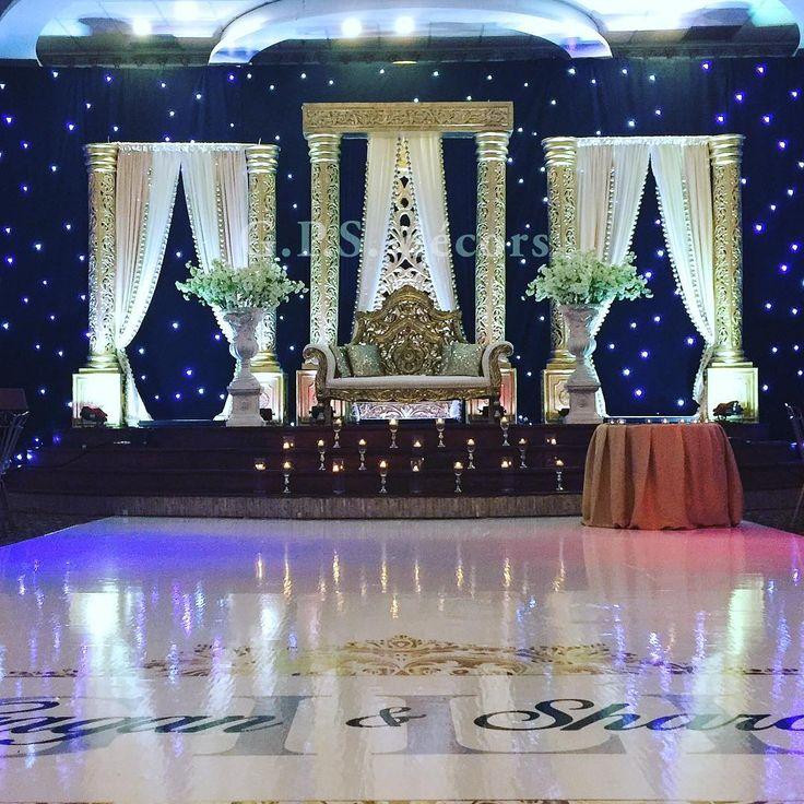 wedding stage decoration pics%0A Sharan  u     Gagan Gill u    s Grand Wedding Reception at  chandnihalls with   marquee design
