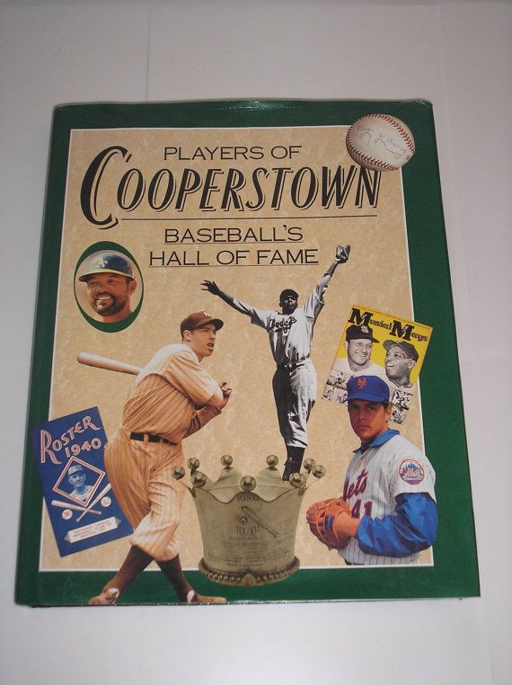 1993 Players Of Cooperstown  Baseball's Hall Of Fame At https://www.etsy.com/shop/daddydan