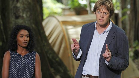 Death in Paradise on BBC 1...the end of season finale was great....loved it!